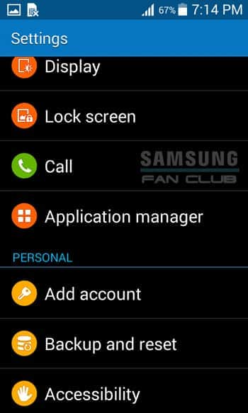 Backup-Reset Samsung GT-N7000B Galaxy Note