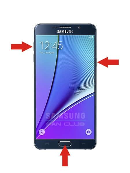Hard Reset-Tasten Samsung GT-S5300 Galaxy Pocket