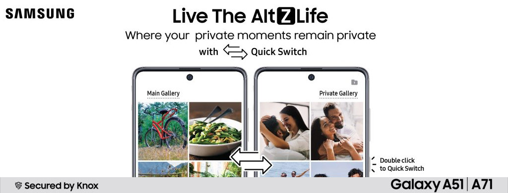 Alt Z Life update for Galaxy A51 and Galaxy A71