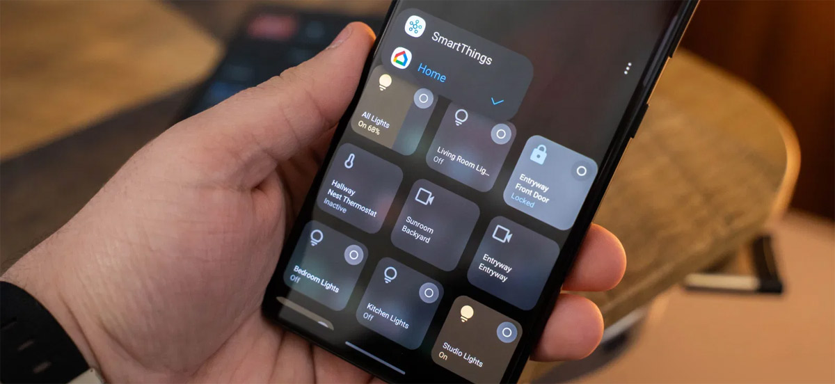 Samsung One UI 3.1 gets Android 11's smart home controls
